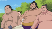 Sumo Wrestlers group