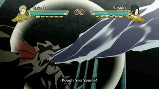 Rough Sea Spume