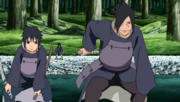 Tajima and Izuna arrive