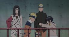 Naruto in Hinata's memory