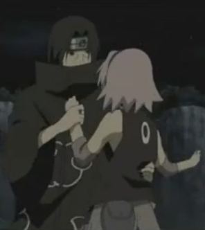 Itachi And Sakura Road To Ninja Itachi picking Sakura bridal