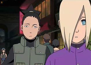 ShikaIno (RtN)   Naruto Couples Wiki   FANDOM powered by Wikia Naruto Road To Ninja Shikamaru