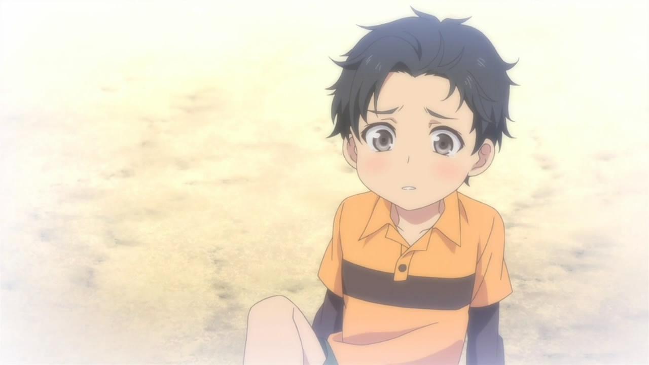 Anime Kid Boy With Baby Dragon