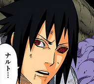 Sasuke's red Rinnegan