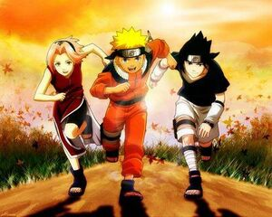 Naruto-team-7-run-run