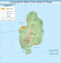 Kings topographic