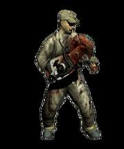 Cutoffsaw zombie