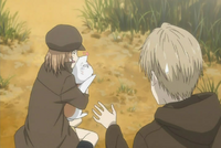 Natsume tried to calm taki