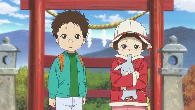 File:Natsume Yuujinchou - OAD children at the shrine.jpg