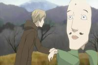 Natsume grabbing chobihige