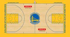 Golden State Warriors court logo