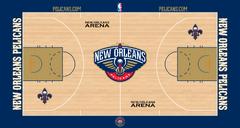New Orleans Pelicans court logo