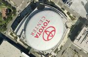 Toyota Center satellite view