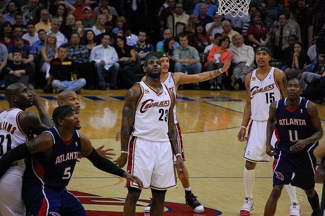 File:LeBron James watches free throw.jpg