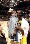 Kobe Bryant kiss Natalia