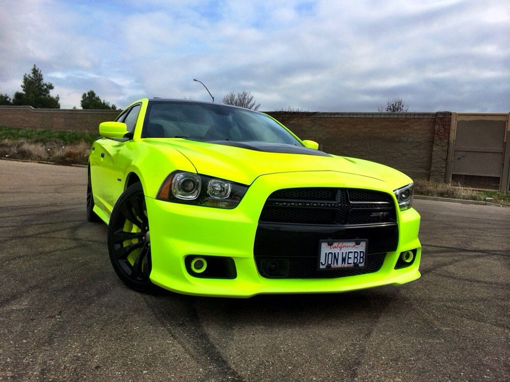 Image Srt8 Neon Yellow Sports Car Jpg Neon Colors