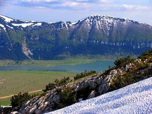 Blidinje Jezero (Lake) 1250m from Mali Vran (219992)