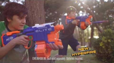 NERF UK Hyperfire TV Commercial