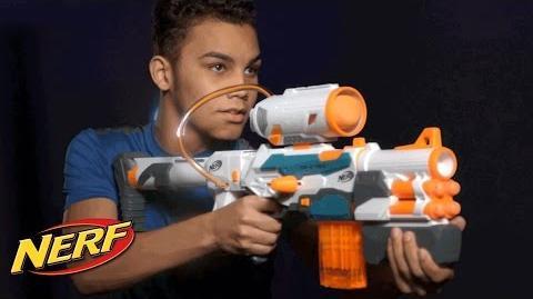 NERF - 'Modulus Tri-Strike Blaster' Official T.V