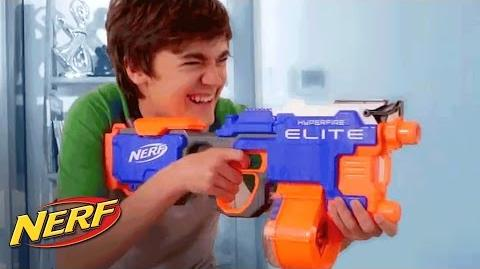 NERF Australia N-Strike Elite Hyperfire - Official T.V