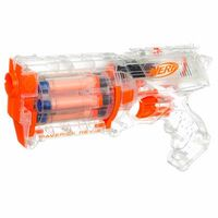 NERF N-STRIKE CLEAR MAVERICK REV-6