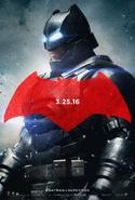 Batman BVS poster