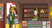 Zelda Heart for a Hero