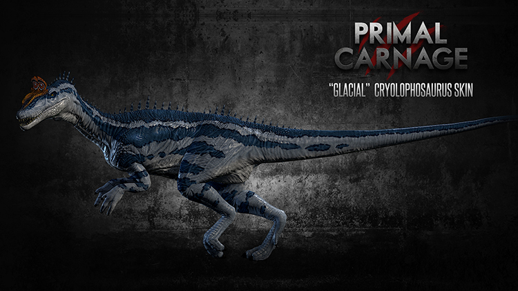 Cryolophosaurus | Primal Carnage Wiki | FANDOM powered by ...