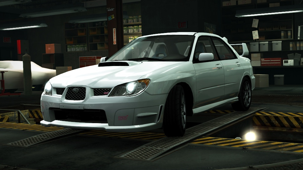 Subaru Impreza WRX STI (2006) | Need for Speed Wiki ...