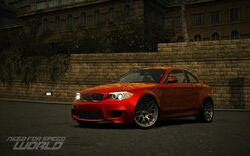 CarRelease BMW 1-Series M Coupe Orange