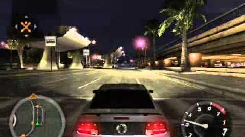 Sound of Mustang in Need for Speed Underground 2