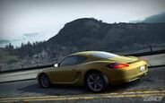 CarRelease Porsche Cayman S Yellow