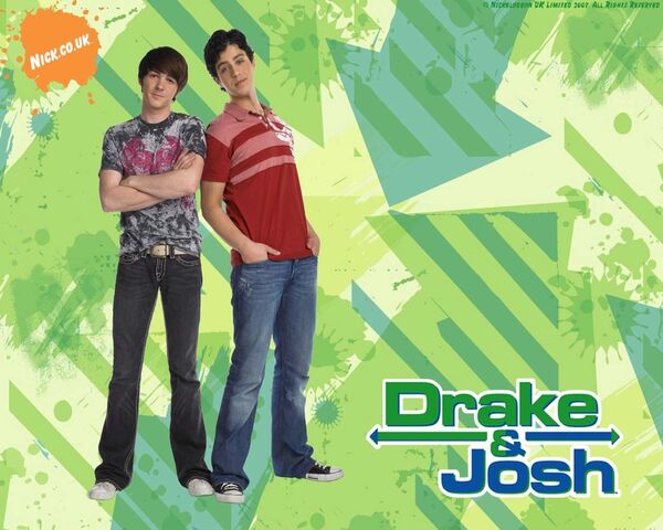 File:Drake & Josh Wallpaper.jpg