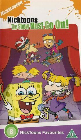 File:Nicktoons The Show Must Go On! UK VHS.jpg