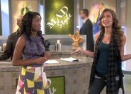 Nathalia Ramos guest starring in The True Jackson VP
