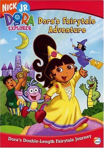 File:Dora the Explorer Dora's Fairytale Adventure DVD 1.jpg