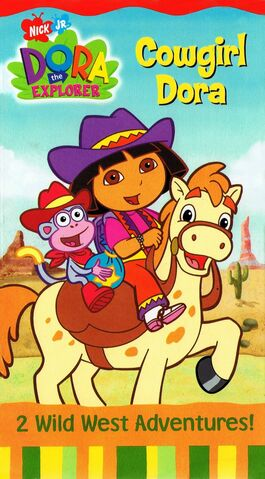 File:Dora the Explorer Cowgirl Dora VHS.jpg