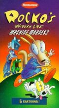 Rocko MachineMadness Paramount VHS