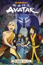 Avatar The Last Airbender The Search Part Two Book