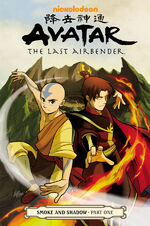 Avatar The Last Airbender Smoke and Shadow Part One Book