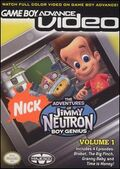 GBA Video Jimmy Neutron Vol 1