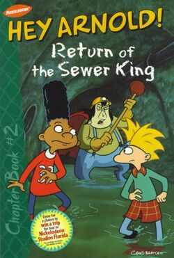 Hey Arnold! Return of the Sewer King Book