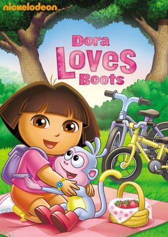 File:Dora the Explorer Dora Loves Boots DVD.jpg