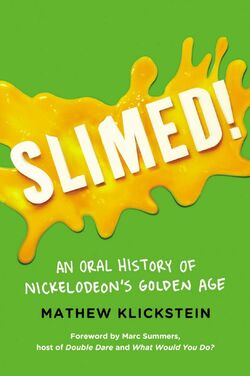 Slimed book cover