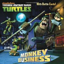 Teenage Mutant Ninja Turtles Monkey Business Book
