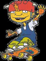 Twister on skateboard