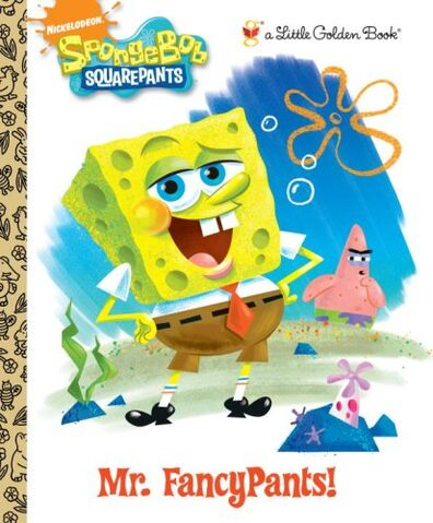 File:SpongeBob Mr. FancyPants! Book.jpg