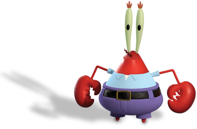 File:Mr Krabs Out of Water Render 01.png