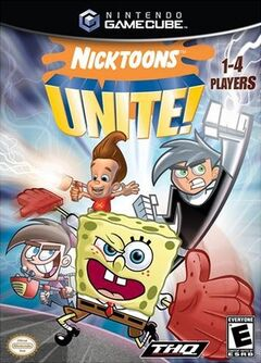Nicktoons Unite for GameCube