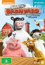 BATB Escape From the Barnyard DVD